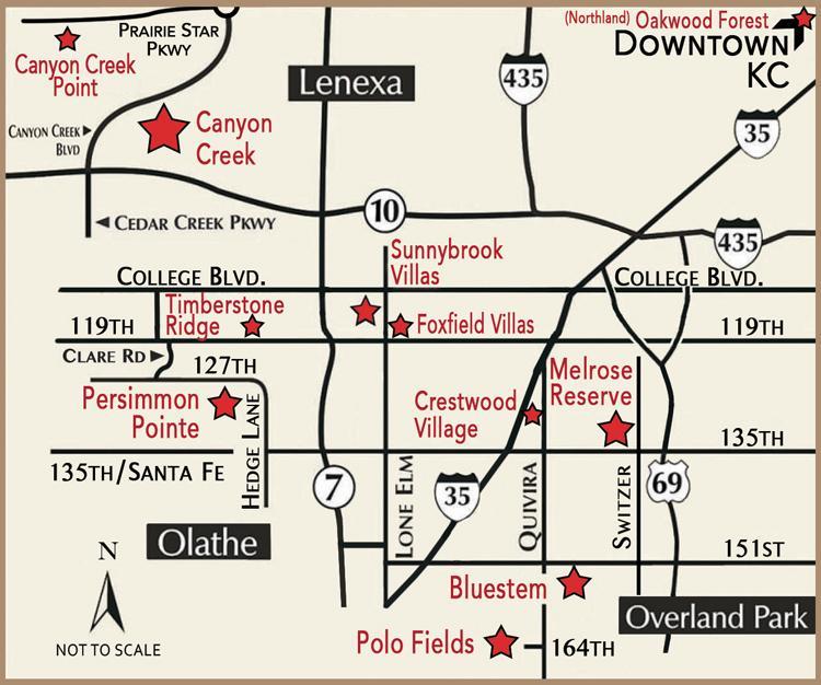 Prime Development Land Company map